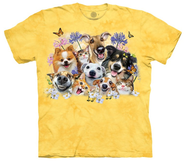 Cats & Dogs Fun In The Sun Adults T-Shirt