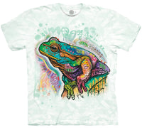 Psychedelic Frog Adults T-Shirt