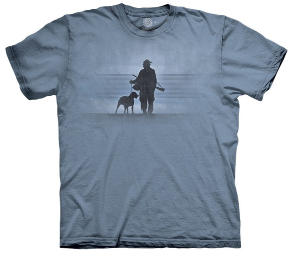 Hunter and His Dog Adults T-Shirt