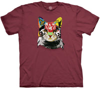 Fine Art Feline Adults T-Shirt