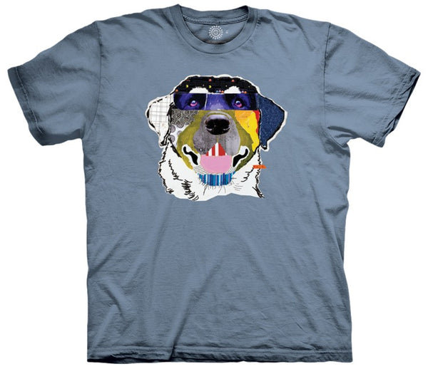 Laughing Labrador Adults T-Shirt