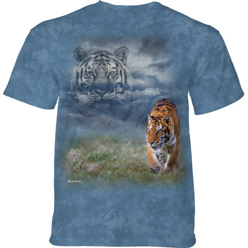 Morning Dew Tiger Adults T-Shirt