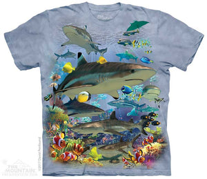 Reef Sharks Adults T-Shirt