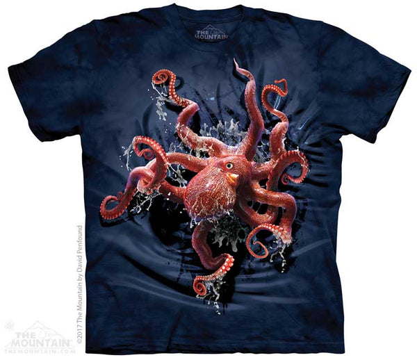 Octopus Climb Adults T-Shirt