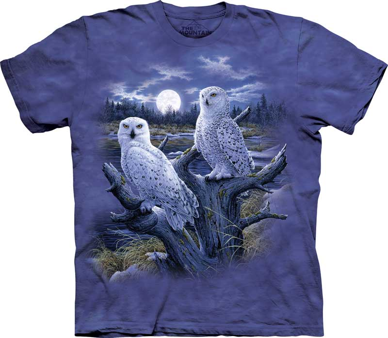 Snowy Owls Adults T-Shirt