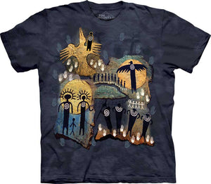 Flight of the Shaman Adults T-Shirt