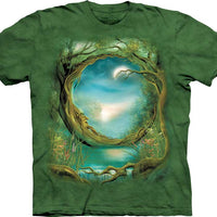 Moon Tree Adults T-Shirt