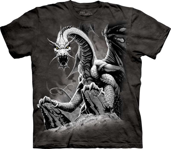 Black Dragon Adults T-Shirt