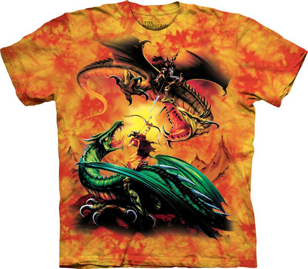 Dragon Duel Adults T-Shirt