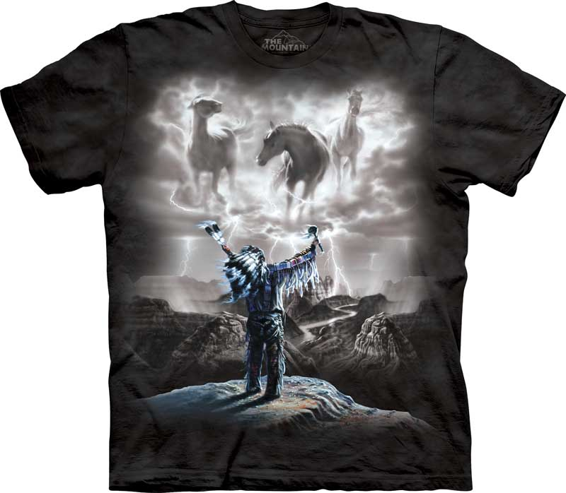 Summoning the Storm Adults T-Shirt