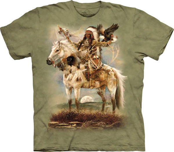 Native American Spirit Adults T-Shirt