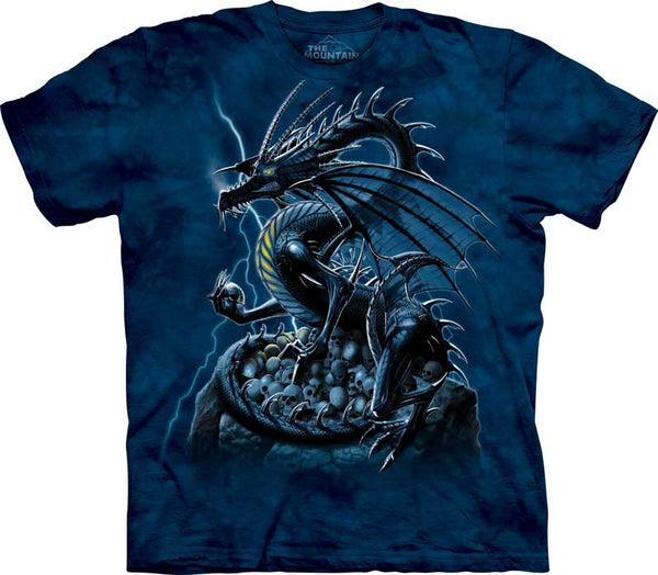 Skull Dragon Adults T-Shirt