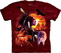 American Indian Collage Adults T-Shirt
