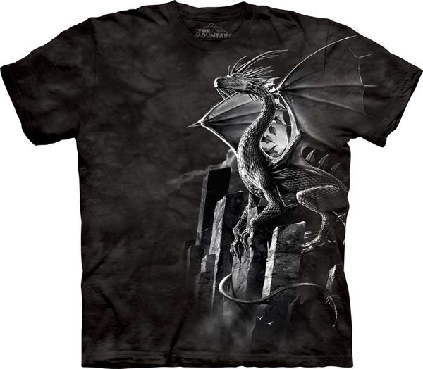 Silver Dragon Adults T-Shirt