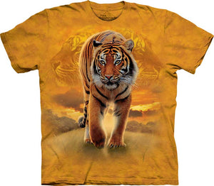 Rising Sun Tiger Adults T-Shirt