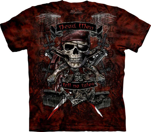 Dead Men Pirate Adults T-Shirt