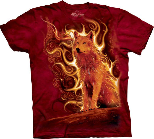 Phoenix Wolf Adults T-Shirt