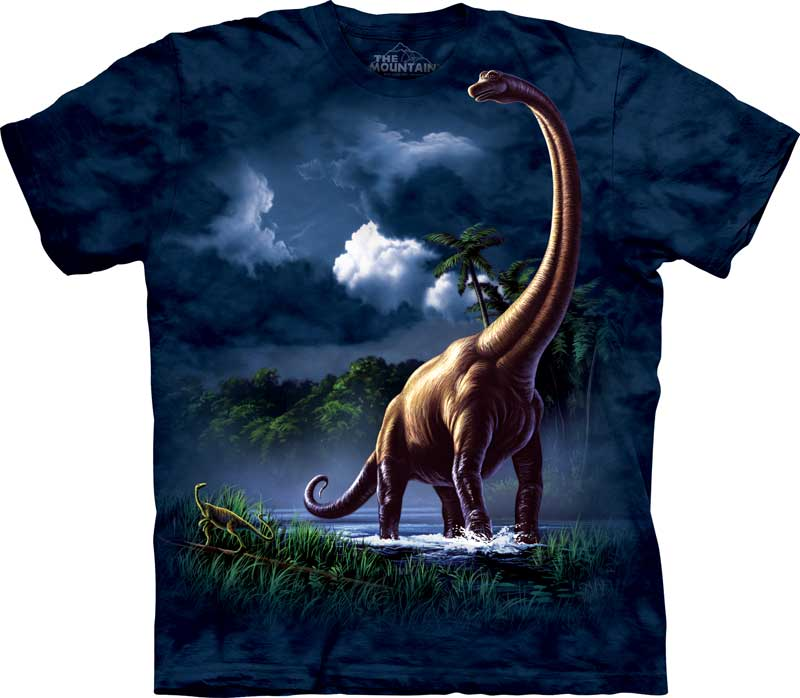 Brachiosaurus Adults Dinosaur T-Shirt