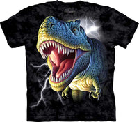 Lightning Rex Adults Dinosaur T-Shirt