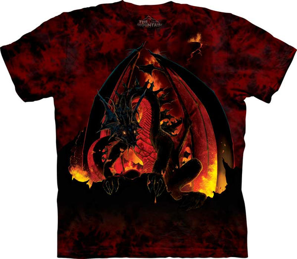 Dragon Fireball Adults T-Shirt