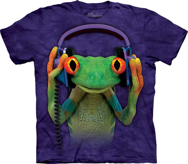 DJ Peace Adults Frog T-Shirt