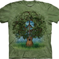 Guitar Tree Adults T-Shirt