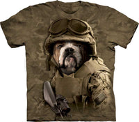Combat Sam Adults Bulldog T-Shirt