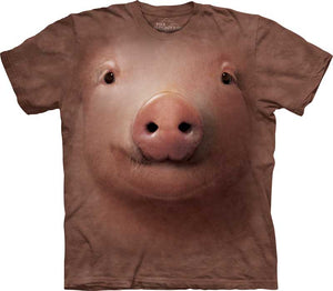 Pig Face Adults T-Shirt