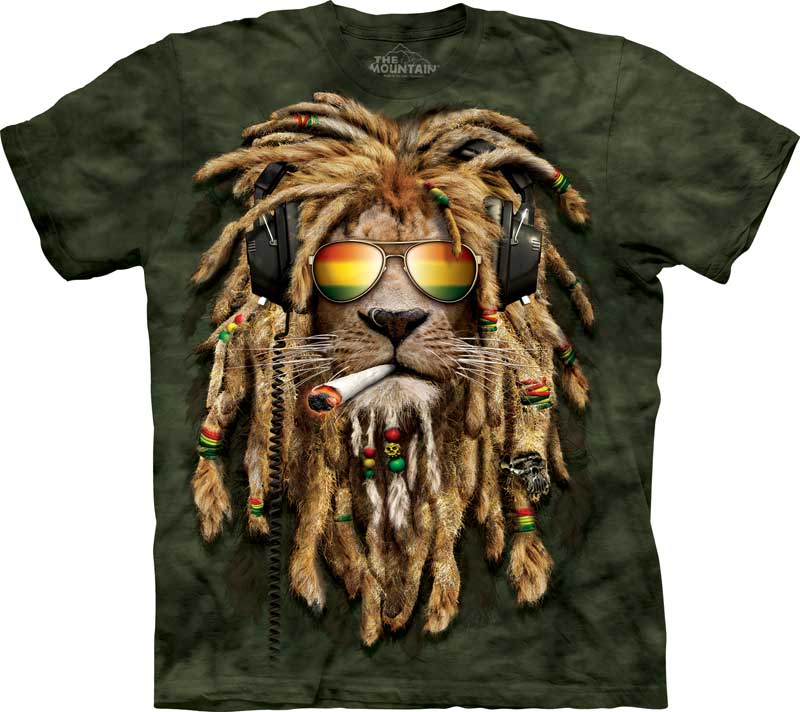 Smokin Jahman Adults Lion T-Shirt