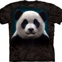 Panda Head Adults T-Shirt