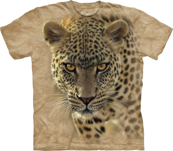 On The Prowl Leopard Adults T-Shirt