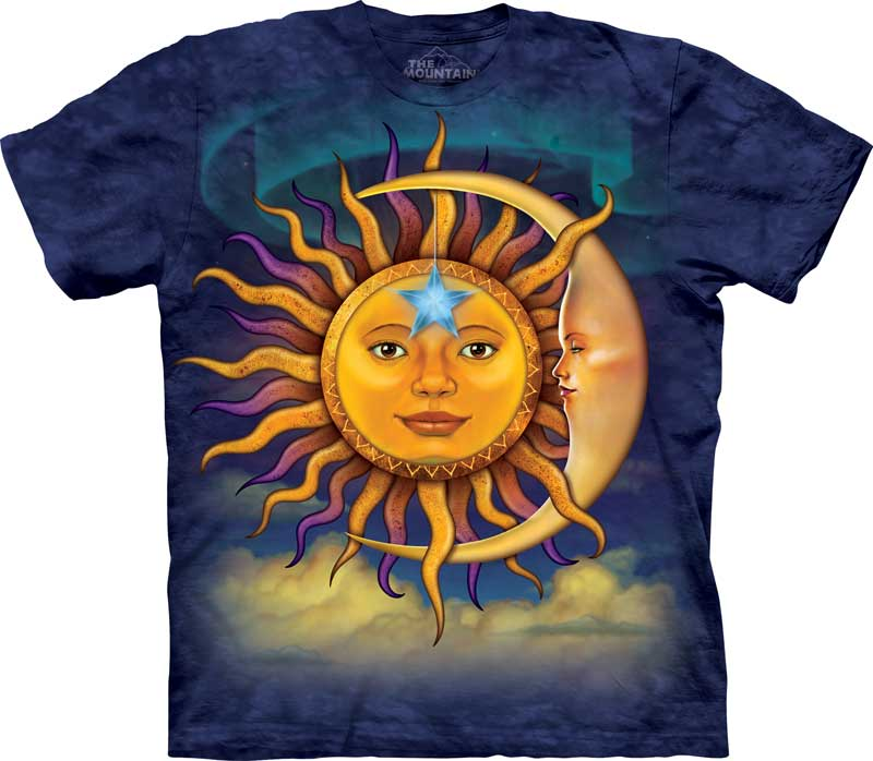 Sun & Moon Adults T-Shirt