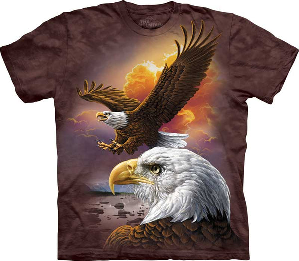 Eagle & Clouds Adults T-Shirt