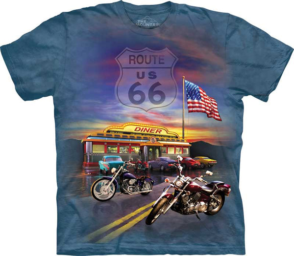 Route 66 Adults T-Shirt