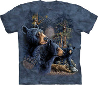Find 13 Black Bears Adults T-Shirt
