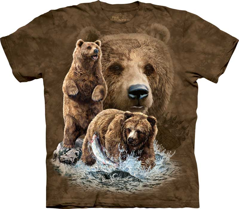 Find 10 Brown Bears Adults T-Shirt