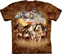 Find 15 Horses Adults T-Shirt
