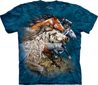 Find 13 Horses Adults T-Shirt