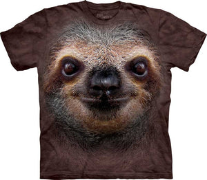 Sloth Face Adults T-Shirt