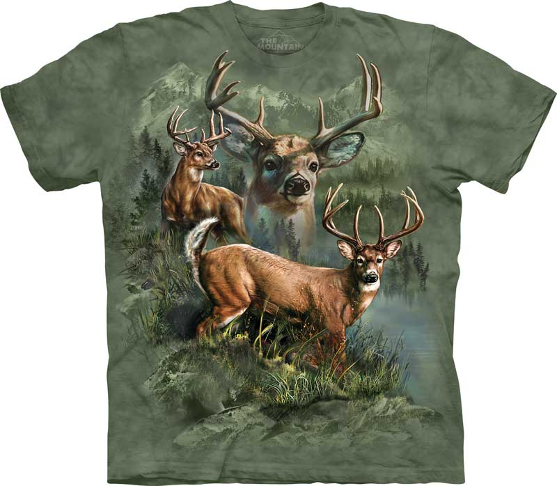 Deer Collage Adults T-Shirt