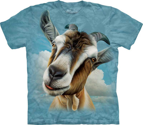 Goat Head Adults T-Shirt