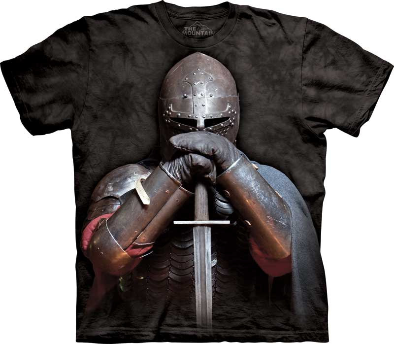 Medieval Knight Adults T-Shirt