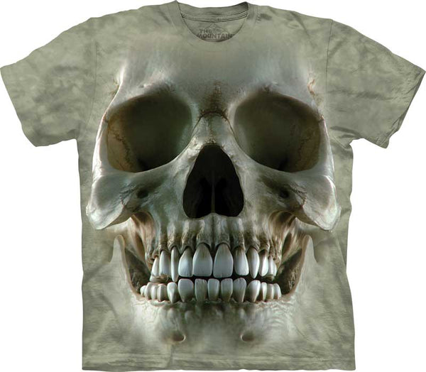 Skull Face Adults T-Shirt