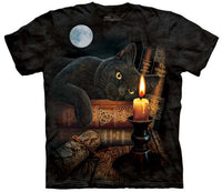 The Witching Hour Cat Adults T-Shirt