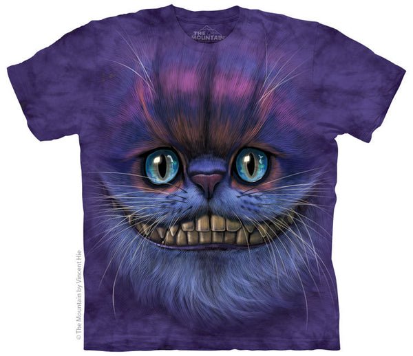 Cheshire Cat Face Adults T-Shirt