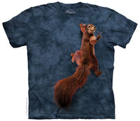 Peace Squirrel Adults T-Shirt