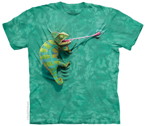 Climbing Chameleon Adults Lizard T-Shirt