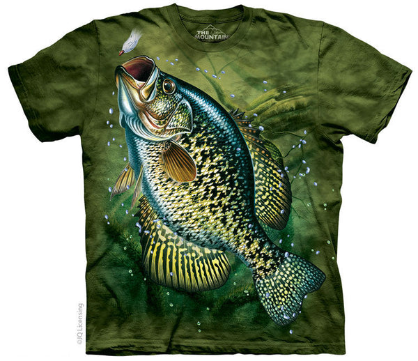 Crappie Adults Fishing T-Shirt