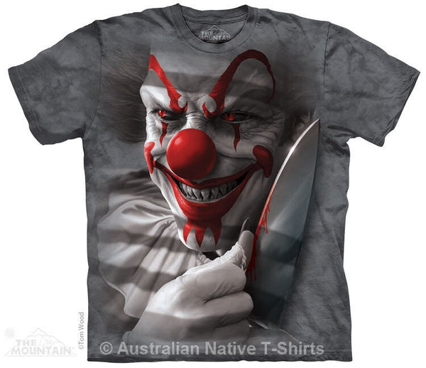 Clown Cut Adults T-Shirt