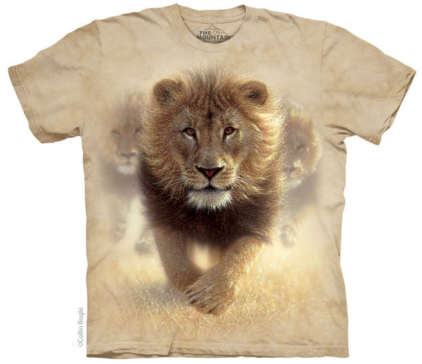 Eat My Dust Lion Adults T-Shirt